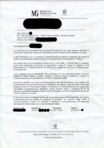 Carta Copyright Trolls SP